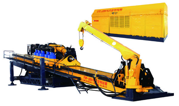 FDP-1000 FDP Series Hydraulic Directional Drilling Rig